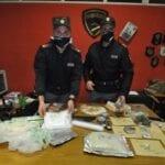 Insospettabile arrestato con un chilo e mezzo di cocaina