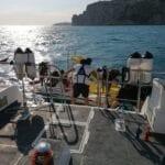 Dai natanti in difficoltà, a quelli ancorati tra i bagnanti: superlavoro per la Guardia Costiera