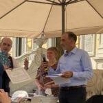 """Premio letterario """"I Murazzi"""" di Torino, vince l'autore formiano Costantini"""