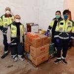 """Dal Conad Superstore alimenti di prima necessità per la protezione civile """"Città di Fondi"""""""