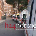 VIDEO – Covid, ancora ambulanze in coda all'ospedale di Latina