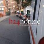 Covid, ancora ambulanze in fila all'ospedale di Latina 2 11 novembre 2020