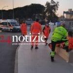 Covid, ancora ambulanze in fila all'ospedale di Latina 3