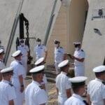 """Festa della Marina Militare, il """"tour"""" del Direttore marittimo del Lazio"""