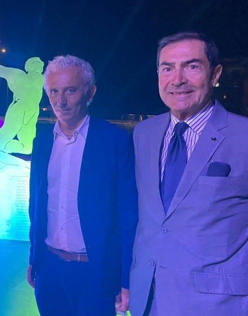 Il sindaco Coetta e Mauro Macale