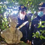 Reperti archeologici in villa di Fondi: la scoperta dopo l'allarme per un furto