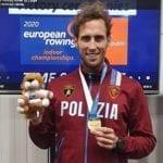 Canottaggio, Fiamme Oro: l'agente Goretti campione d'Europa indoor rowing