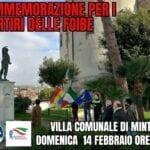 FdI e Gn Minturno, domenica la commemorazione dei martiri delle foibe