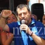 Salvini a Fondi: dopo l'annuncio la politica, le polemiche e la satira