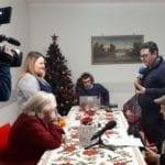 Domenica in onda su Rai1 i nonni ospiti della casa di riposo 'San Francesco' di Scauri