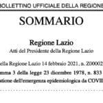 """Covid: zona rossa a Roccagorga. Emersa anche la """"variante inglese"""""""