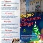 """""""Spigno Christmas Village"""", il programma della tre giorni natalizia"""