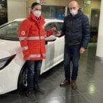 Croce Rossa, una nuova auto per il Comitato di Latina