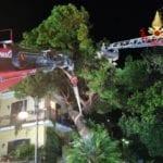 Dall'albero caduto su una casa, agli allagamenti: interventi no stop – VIDEO
