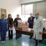 Fondi, catena solidale: mille mascherine per ospedale e ambulatori