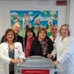 Nuovo carrello per defibrillatore ed ossigeno donato al reparto neonatologia del 'Goretti'