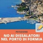Dissalatori Acqualatina a Formia: Formiaé si dice contraria e lancia la petizione