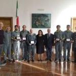 I canottieri delle Fiamme Gialle premiati dal Comune di Sabaudia