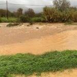 Maltempo, esonda anche il fiume Amaseno – FOTO