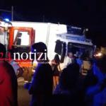 Incidente tra auto e camion: paura sulla Fondi-Sant'Anastasia