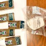 Panetti di cocaina e hashish: donna arrestata a Minturno