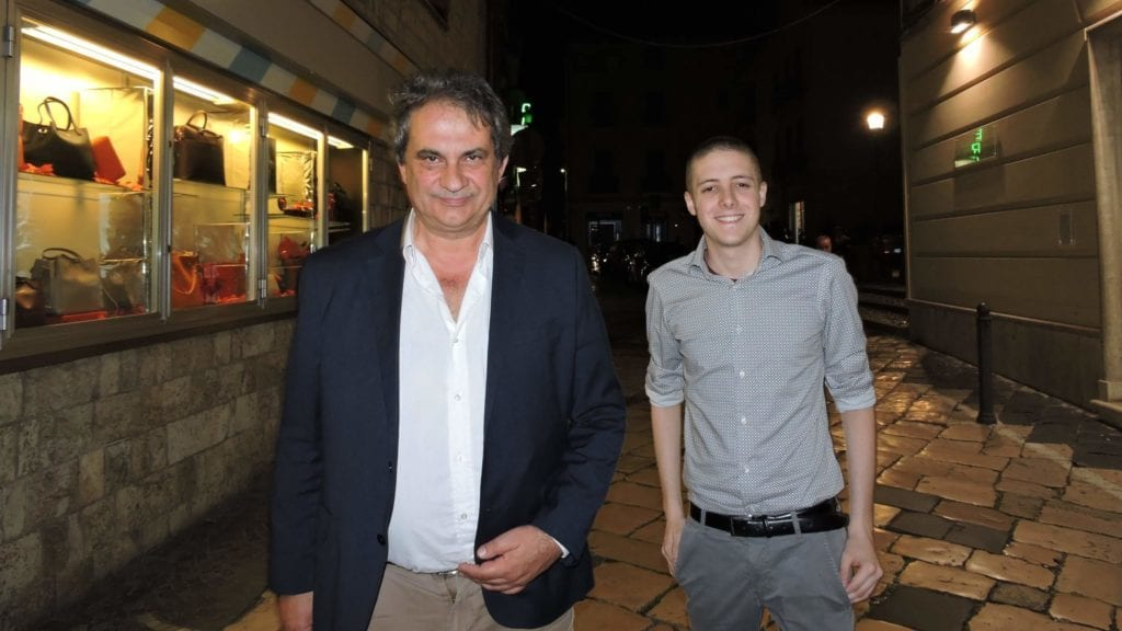 Roberto Fiore e Francesco Mastrobattista