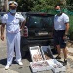 Vendita abusiva di prodotti ittici in spiaggia: stangata per due campani