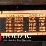 Treni, sulla linea Roma-Napoli ritardi e cancellazioni