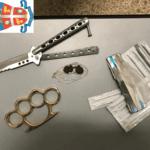 Sorpresi con armi e droga, denunciati due giovani di Formia