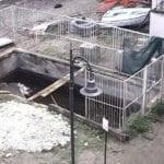 Rimossi i serbatoi di gasolio della vecchia centrale, Giancos libera