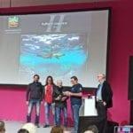 Il formiano Raffaele Livornese torna sul podio di Düsseldorf con una foto da urlo