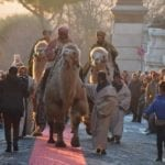 A Cori arrivano i Re Magi per rievocare l'adorazione del Bambino Gesù