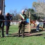 Villaggio Trieste, inaugurata la nuova area giochi