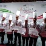 Alberghiero di Formia plurimediagliato ai Campionati della Cucina