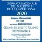 Una giornata dedicata al dialetto, l'evento della Pro Loco