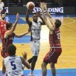 Basket serie A2, la Benacquista Latina cade in casa contro la Bertram Tortona