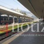 Formia, la stazione è deserta dopo il decreto per l'emergenza sanitaria
