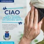 """""""Ciao"""", la campagna a sostegno delle persone sole e degli anziani"""