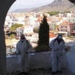 Covid-19 a Sperlonga, si prosegue alla sanificazione – FOTO