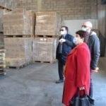 Emergenza Coronavirus, visita della Ministra Bellanova alla struttura del Banco Alimentare di Aprilia