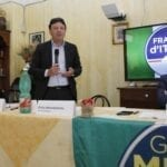 Mastrobattista si presenta, Fdi già in campagna elettorale – VIDEO