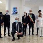 Latina, una targa all'ingresso del 'Goretti' per ringraziare gli operatori sanitari