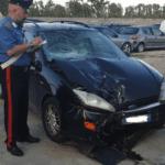 Sorpreso dai Carabinieri a rubare in un'auto preso dopo l'inseguimento