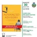 """""""Advanced advisory"""", la presentazione del libro sulle imprese"""