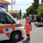 Moto contro scooter all'incrocio, l'incidente al Circeo