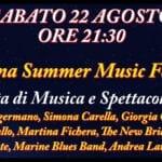 Questa sera la prima edizione del Cisterna Summer Music Festival