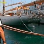 Rientrato a Gaeta il cutter d'epoca 'Lulworth': diventerà una nave scuola
