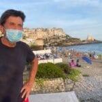 Vacanze al sud della penisola per Gianni Morandi, che fa tappa a Sperlonga