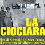 """Itri ricorda """"La ciociara"""", per i 60 anni del capolavoro di Vittorio De Sica"""