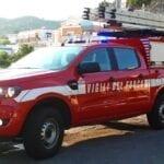 Quadro elettrico a fuoco tra le case, l'intervento dei Vigili del Fuoco